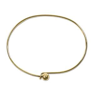 add a bead bracelet bracelet wire add a bead 130mm gold plated x1 uk