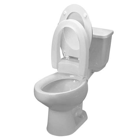 elevated toilet seat hinged elevated toilet seats colonialmedical