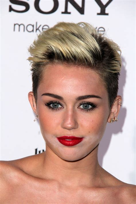 Miley Cyrus Hairstyle by Miley Cyrus Diverse Hairstyles For 2015
