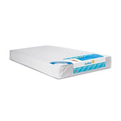 Safety 1st Heavenly Dreams White Crib Mattress Safety 1st Heavenly Dreams White Crib Mattress By Safety 1st Our Price Bed Mattress Sale