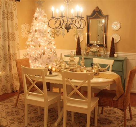 how to decorate my room decorating my dining room for christmas hooked on houses
