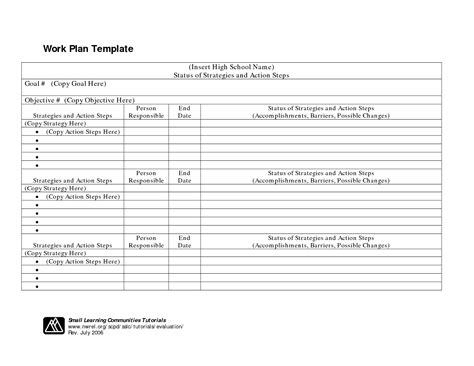 best photos of professional work plan template