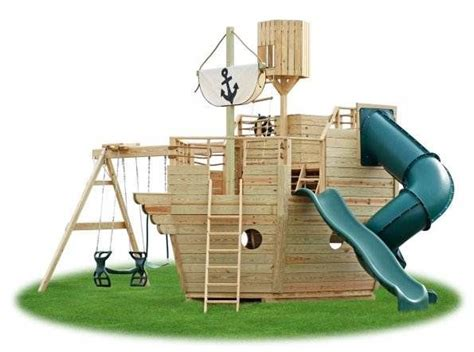 wooden boat swing set pin by kristina mckay on garden pinterest