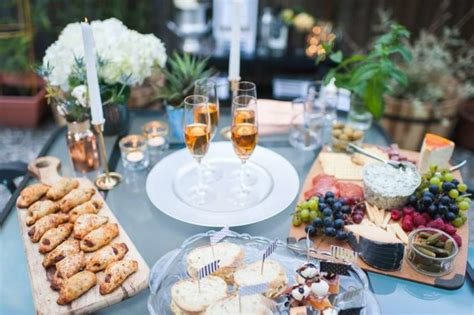 great gatsby bridal shower food outdoor great gatsby bridal shower ideas themes