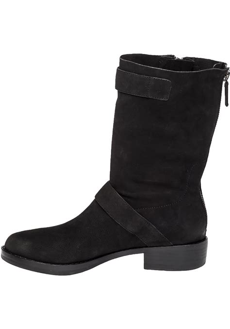 eileen fisher boots eileen fisher log nubuck leather boots in black black