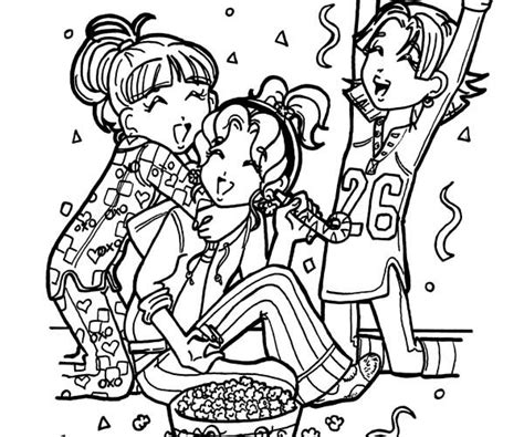 From Planet Dork dorkdiaries free colouring pages