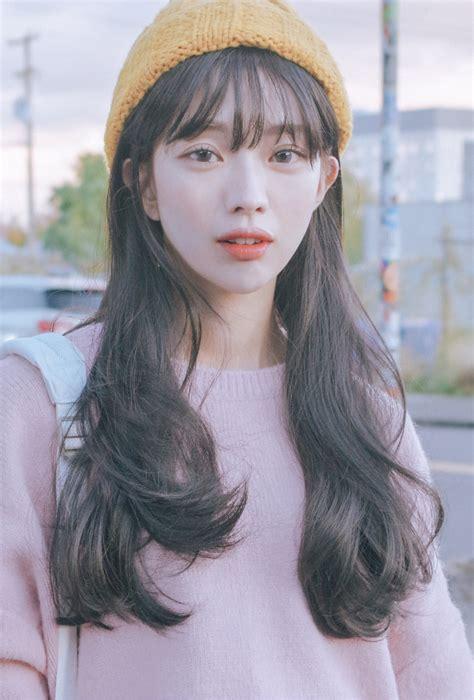 korean v shape hair cut ulzzang transformation