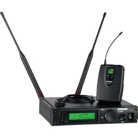 Mic Wireless Shure Ulxd4 Professional Pro Freguency Murah shure ulx professional series wireless ulxp14 150 c m1 b h