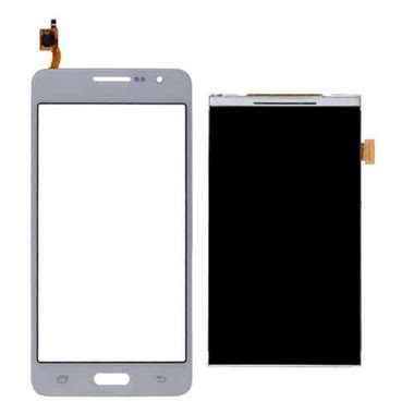 Lcd Hp Samsung Grand Prime samsung galaxy grand prime screen replacement lcd white repairpartsplus