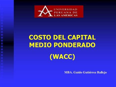 Wacc Mba by Wacc 2
