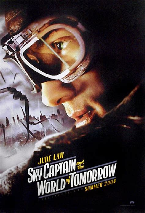 Vcd Original Sky Captain And The World Of Tomorrow sky captain and the world of tomorrow posters for