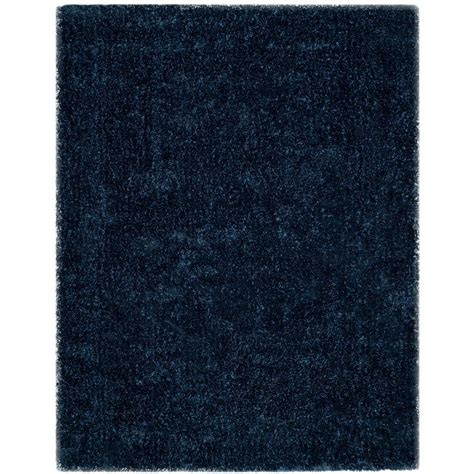 Area Rugs Toronto Safavieh Toronto Shag Navy 8 Ft X 10 Ft Area Rug Sgt711d 8 The Home Depot