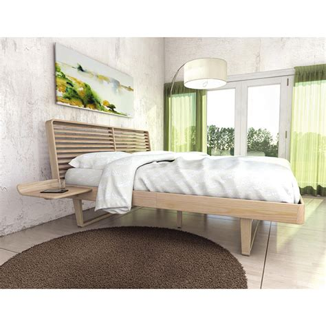 copeland contour platform bed high end solid ash wood
