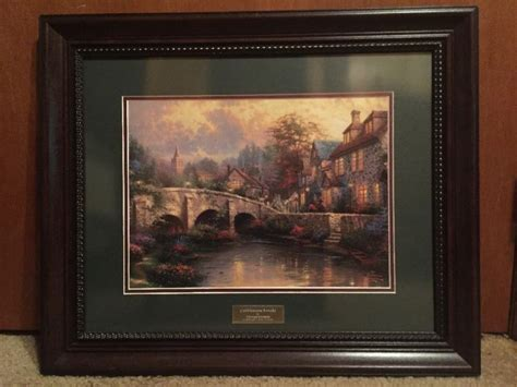 kinkade home interior shop collectibles daily
