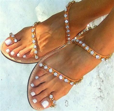 Handmade Summer Shoes For Womenflat - 17 best ideas about bridal flip flops on
