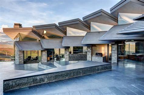modern home design utah park city utah modern home lists for 25 million wsj