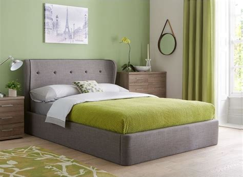 Grey Fabric Ottoman Bed Cooper Charcoal Grey Fabric Ottoman Bed Frame Grey Ottoman Bed And Beds