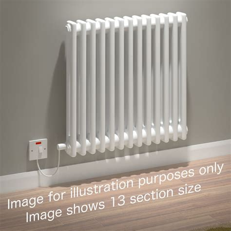 Electric Radiators Kudox Electric Radiator Evora 2 Column 600mm X 1042mm