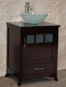 24 quot bathroom vanity cabinet black granite top with