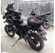 Modified Black Bajaj Pulsar 220  Adventure ModifiedX