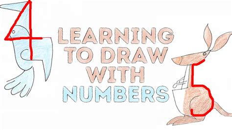 Drawing 5 Minute Crafts by Learning To Draw With Numbers L 5 Minute Crafts