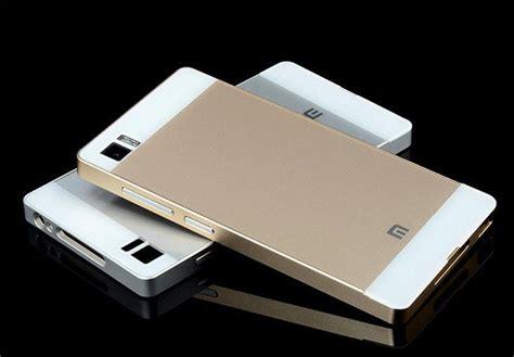 Xiomi Redmi Note Bumper Aluminium Metal List G Aluminum Metal Bumper Pc Back Cover For Xiaomi Mi4