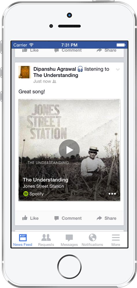 format email deezer facebook partners with spotify rdio and deezer business