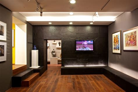 home art gallery design gallery of delhi art gallery re design abhhay narkar 19
