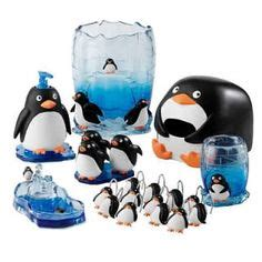 penguin bathroom decor penguin family wish this had one more baby imagenes