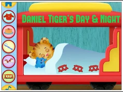 daniel tiger bed daniel tiger s day night daniel tiger game ipad app