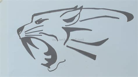 simple tiger tattoo designs easy drawing at getdrawings free for personal