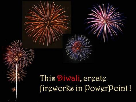 Creating Fireworks In Powerpoint Authorstream Fireworks Animation For Powerpoint