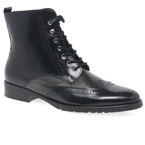gabor connected womens brogue ankle boots charles clinkard