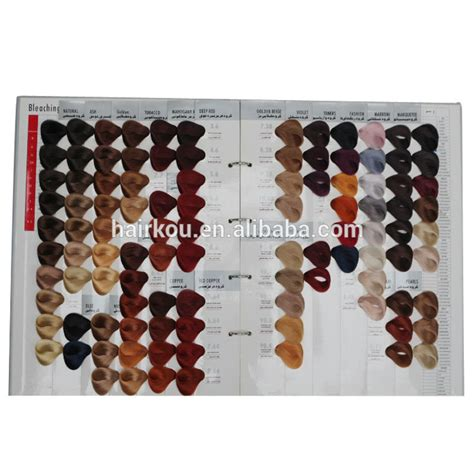 Hair Books For Salons by Oem Manufacturer Salon Professional Hair Dye Color Chart