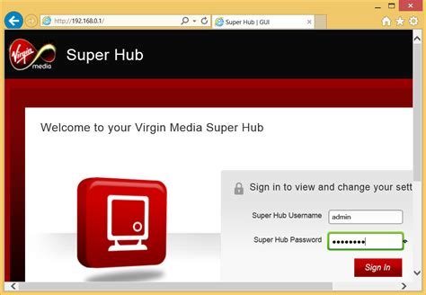 how to reset virgin media superhub username and password how to setup enable vpn pass through on virgin super hub