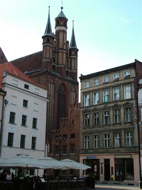 House With Central Courtyard medieval town of toru poland weepingredorger