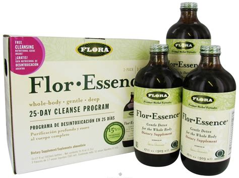 Flora Flor Essence Gentle Detox For The Whole by Object Moved