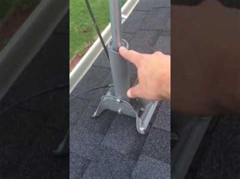 satellite dish coax cable  ota hdtv antenna youtube