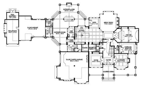 10 bedroom lodge floor plans paradise lodge 3237 7 bedrooms and 8 baths the house