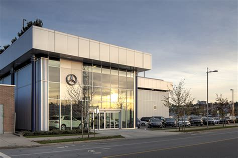 Mercedes Vancouver by Mercedes Of Vancouver Thinkspace Architecture