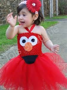 toddler elmo inspired tutu dress