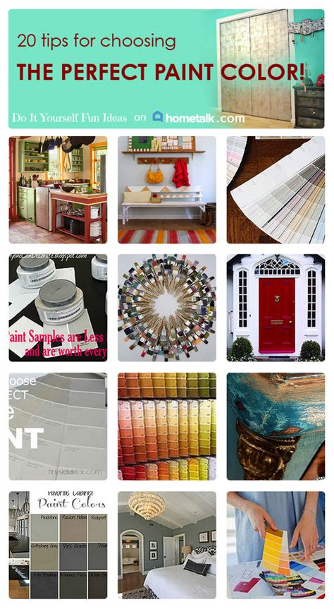 tips and tricks for choosing the perfect paint color 20 tips for choosing the perfect paint color with a little