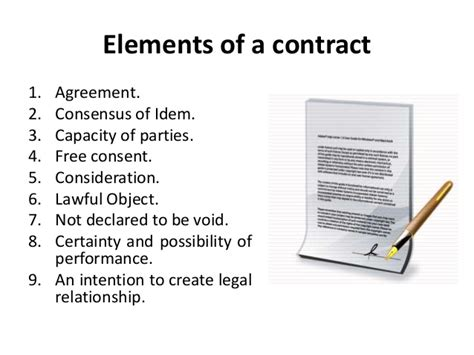 section 10 of contract act law of contract legal environment of business business
