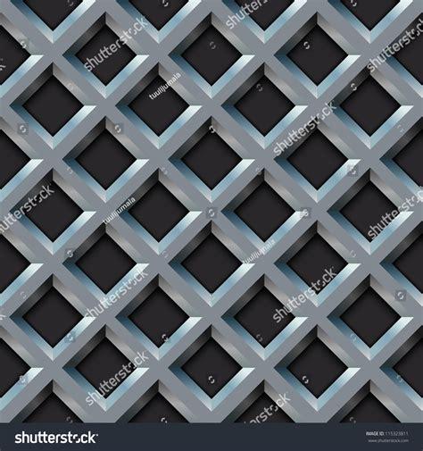 diamond shaped pattern eps seamless metal grill with diamond shape pattern vector