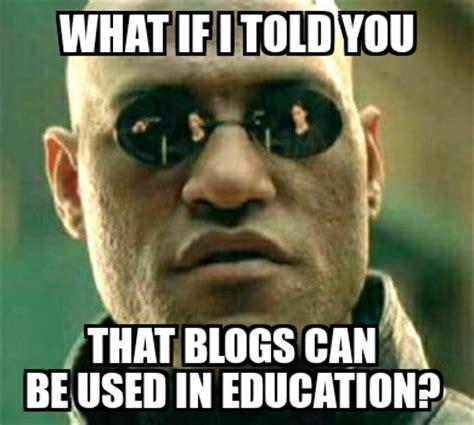 Blogging Memes - morpheus meme media marathoning