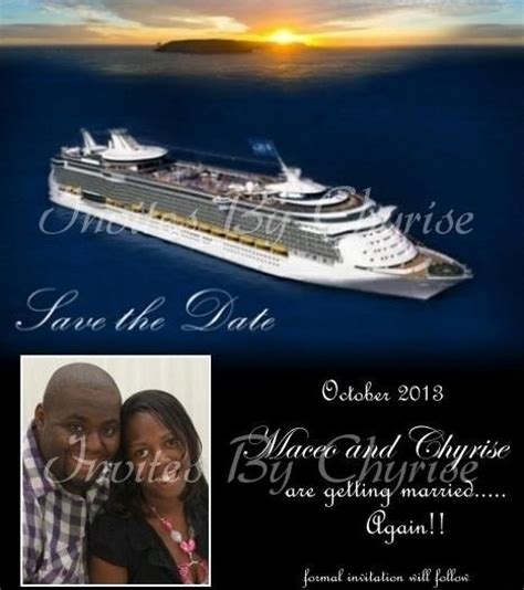 cruise wedding save the date announcement 556 best images about weddings save the date cards invitations etc on cruise