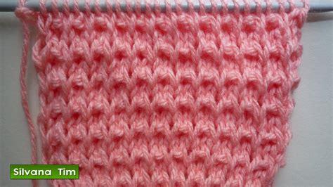 tejido con agujas punto puntada quot calentito quot se parece a punto arroz