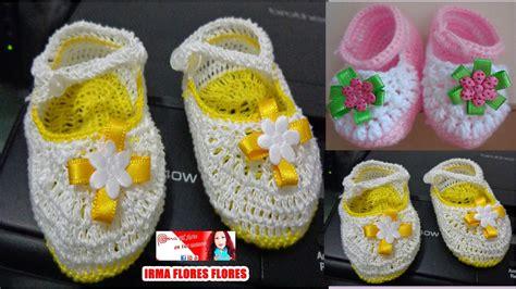 zapatos crochet paso a paso youtube zapatos p tejidos a crochet para bebe de 6 mese a 1 a 209 o