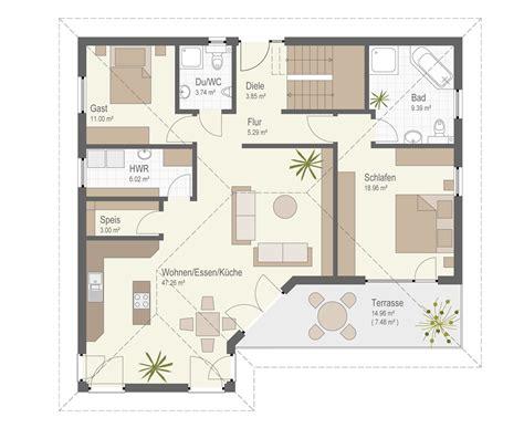 Grundriss Haus 5 Schlafzimmer by Haus G 228 Ufelden Fertighaus Keitel