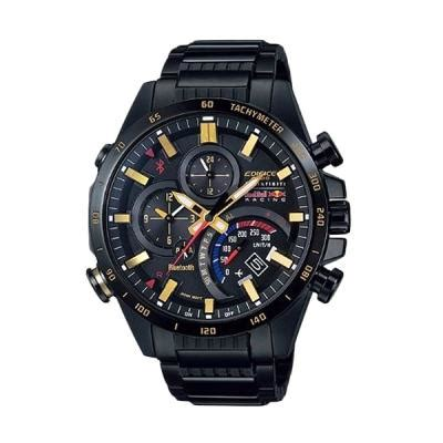 Jam Tangan Casio Rantai Hitam harga casio edifice special edition infiniti bull racing eqb 500rbb jam tangan pria
